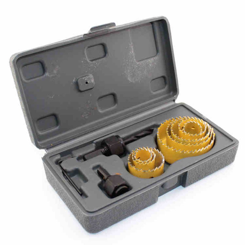 Adjustable Metal Hole Saw Kit For Drilling Glass Tiles