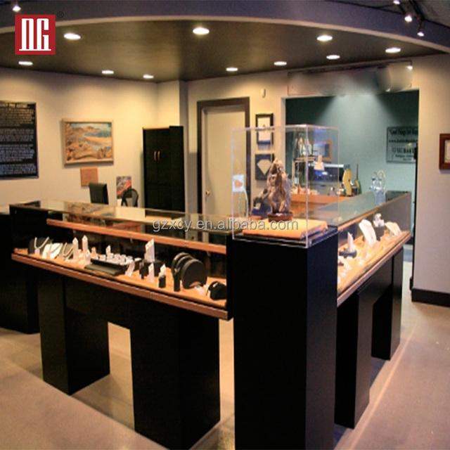 High End Luxury Jewelry Kiosk Display Design Ideas