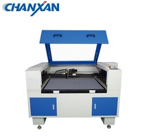 Chanxan Laser 960S CCD laser sticker cutting printing machine for nameplate