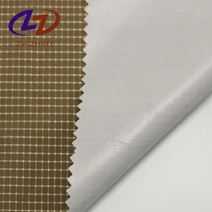 Heat-Insulation 100 spun polyester spandex fabric for Curtain