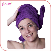 Fashion Hair Towel Drying Wrap Hat Cap Turban Turbie Twist Loop /Magic Quick Dry Hair Drying Turban Bathing Hat Cap Wrap Towel