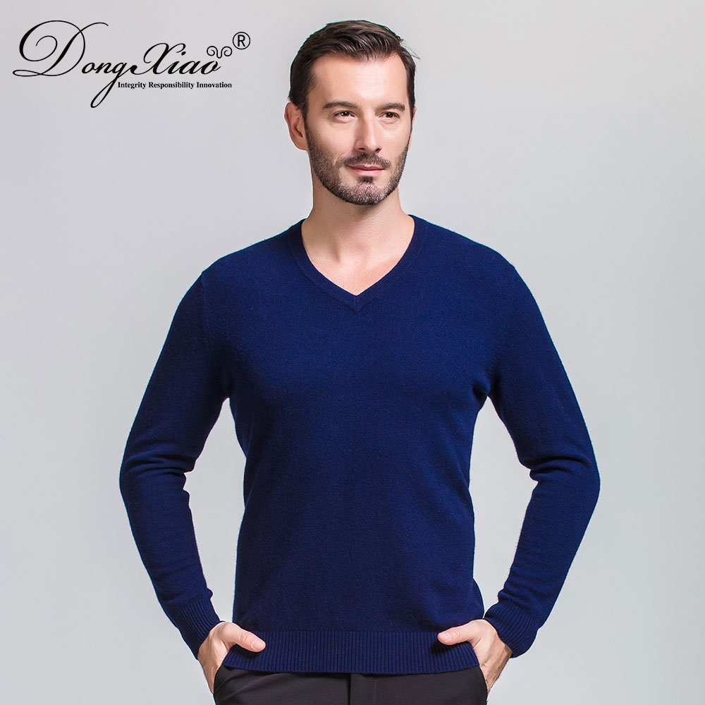 Hot Selling Men'S Computer Knitting Pure Wool Sweater With Colorful Selection