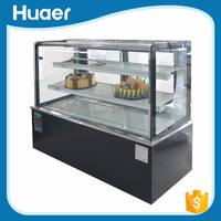 Small cakes refrigerator dessert chiller showcase table top chiller display