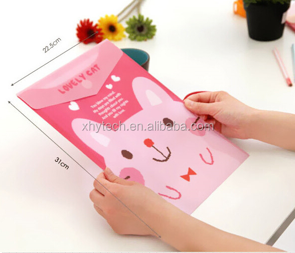 Shenzhen Office Stationery Custom Image Zip Printing Logo High End Metal Ring Binder Document File Sorts Folder