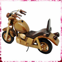 Classical wooden motorcycle model for sell