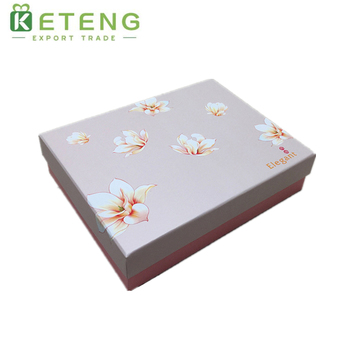 Pink clothes donation packaging box paper storage box