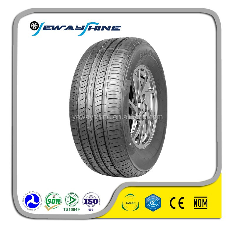 2017 China rubber semi steel new radial car tyres for hot sale on alibaba