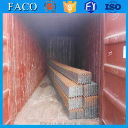 Fangya Angle Steel ! national iron 63x63x3 90 degree steel angle bar manufacturer