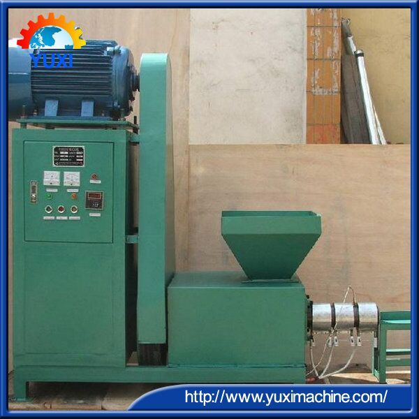 High Quality Jute Sticks Charcoal Making Machinery/Charcoal Rod making Machine