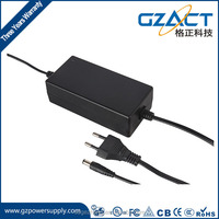 24v 72w ac/dc adapter desktop EU AU US plug dc transformer 3a power supply with CE SAA UL TUV GS CB compliance