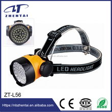 led cordless mining cap lamp ZT-L56 , 56 Led