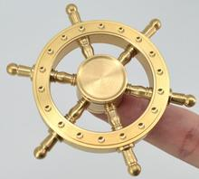 New arrival copper/brass spinner metal finger spinner toy with wholesale price