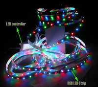 shenzhen price waterproof continuous length5m /roll 60leds flexible led light strip for decoration