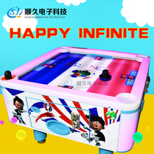 Hot selling 4 people Air Hockey table sports ticket game hockey game machine supplier