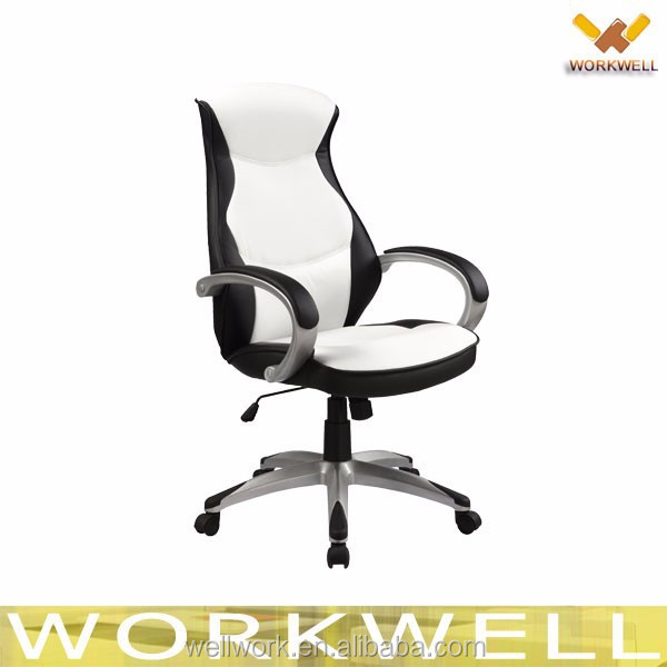 WorkWell high back leather racer chair Kw-m7286-1