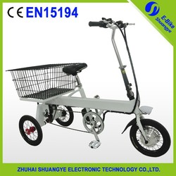 Convenient tricycle electric spare parts bike aluminum alloy frame hidden battery