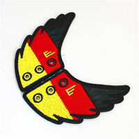 High Quality Germany Flag Shoe Wing
