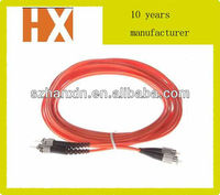 FC-ST multimode duplex fiber optic jumpers
