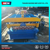 Iran Trapezoidal Metal Deck Roof Roll Forming Machine