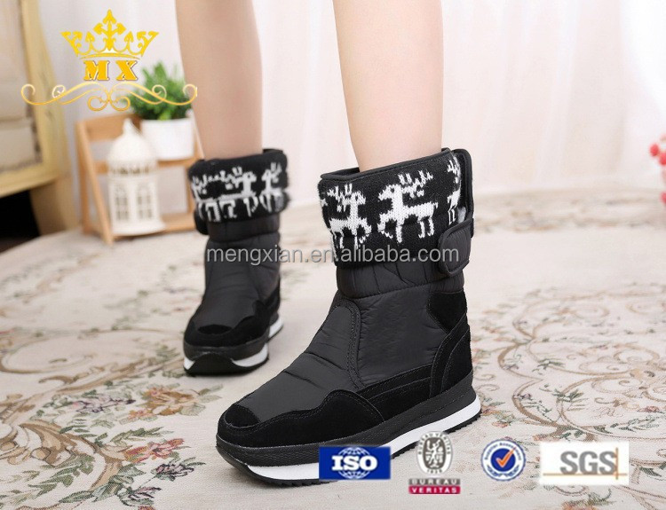 China best selling snow boots waterproof winter boots