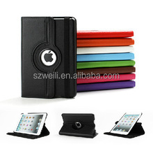 360 Rotation PU Leather case for Apple iPad Air 5 Smart cover ipad5 flip cases with stand function