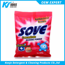 china konje factory washing powder detergent for cleaning