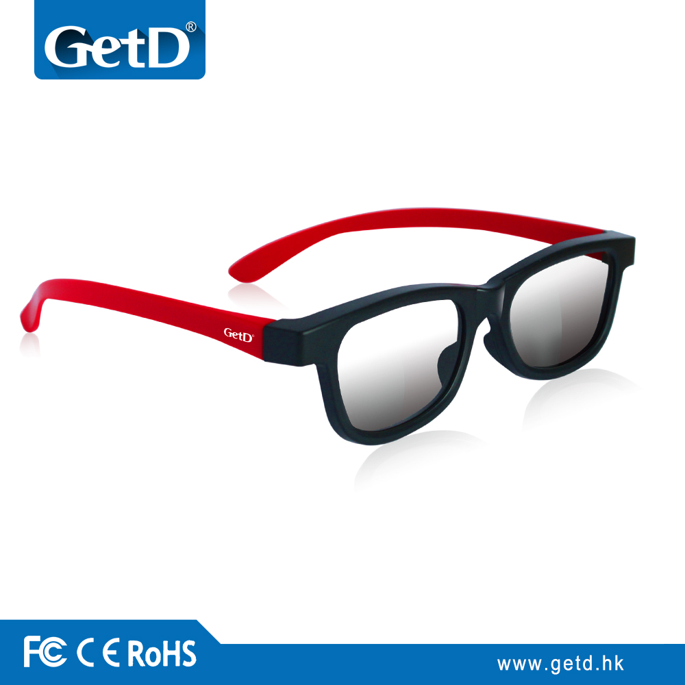 eyewear frame 3d glasses for classic adult movies CP297G66