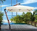 Marble base beach garden parasol anti-uv umbrella outdoor furniture