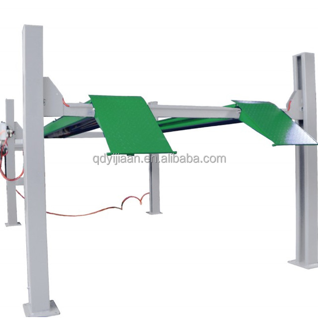best quick lifting 4t wire rope drive hydraulic cylinder wheel alignement car jack lifts for garages