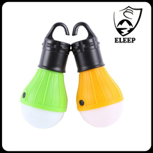 Factory Supply 3*AAA Battery Powered Hanging Camping Bulb Ultra Bright For outdoor camping