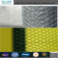 heavy pvc coated bird animal cages/ hexagonal wire mesh