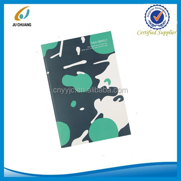 A5 promotional sew binding 40sheets paper notebook