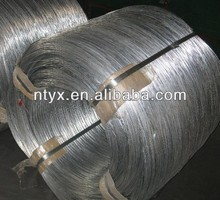 Galvanized wire for steel rope