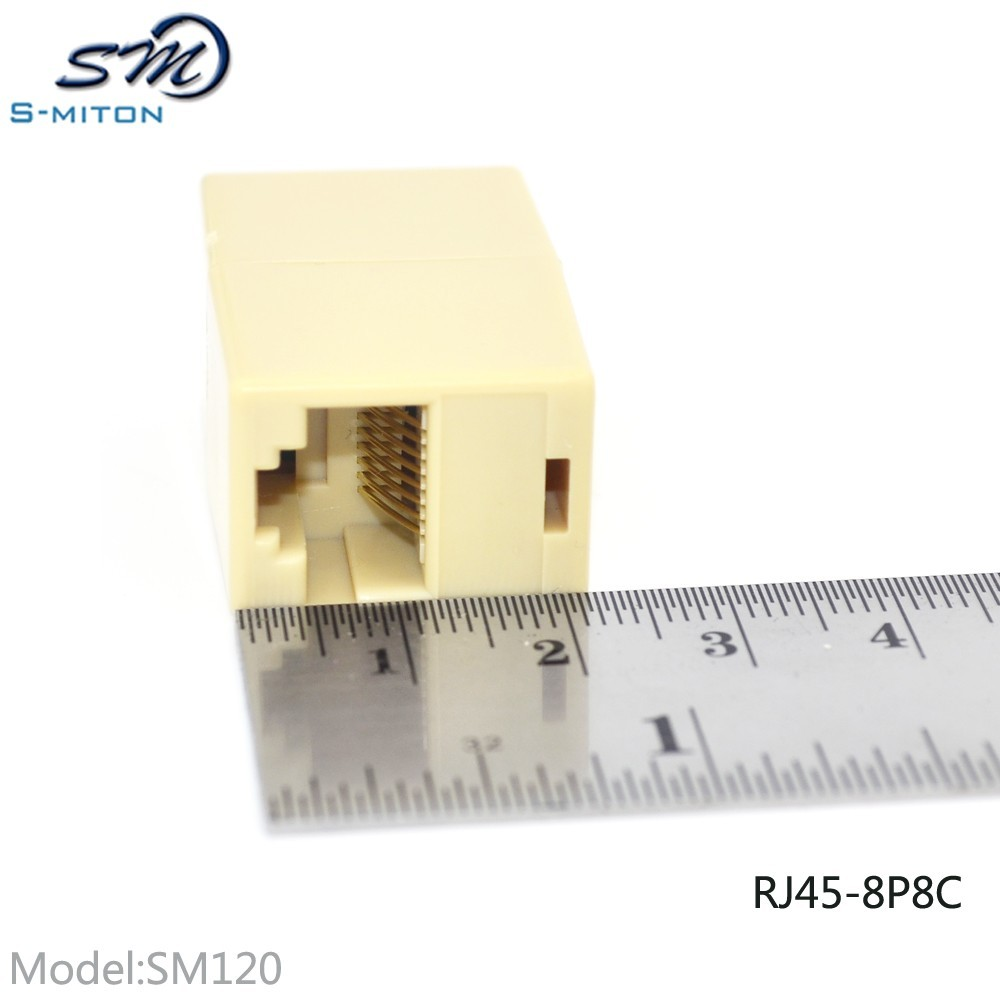 RJ45 8P8C direct connection cat6 rj45 coupler adapter