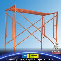 GIGA podium ladders and electric scaffolding
