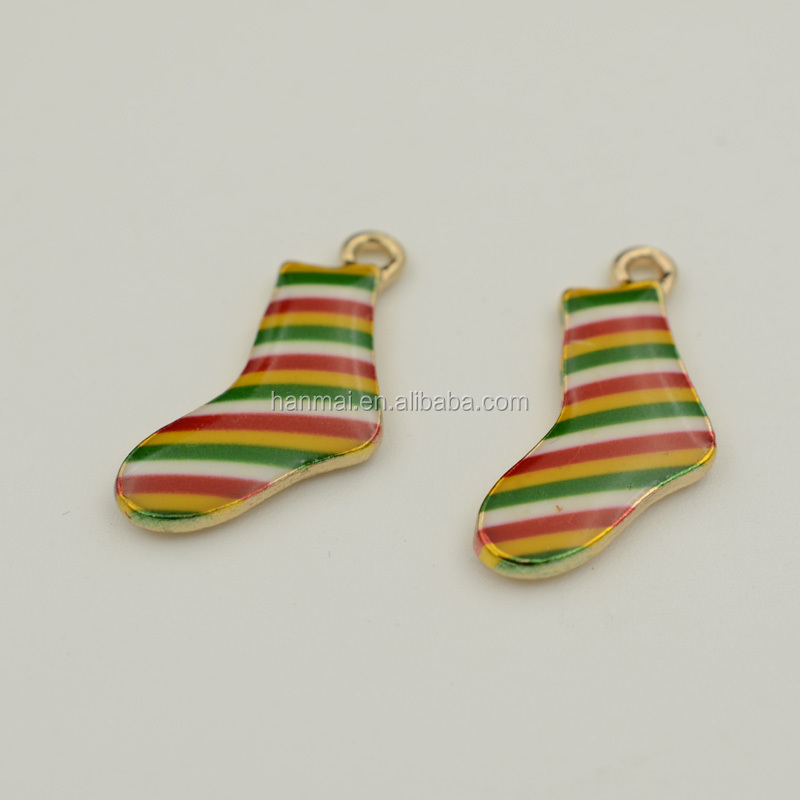 jewelry pendant socks 14x14mm / charm pendant for jewelry making