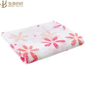 wholesale muslin fabric bamboo baby swaddle blankets