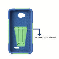 Factory Supply Popular pc silicon cell phone case for lg l70 mobile phone accessory