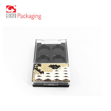 Chinese Manufacture Empty Plastic Bulk Empty Eyeshadow Palettes