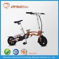 CE approved trendy designed intelligent ebike one-second folding bike