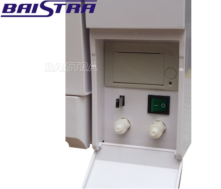 Class B 18L or 23L Built-in printer portable dental autoclave sterilizer for sale