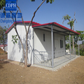 beautiful galvanized steel layout steel structure prefabricated house in africa