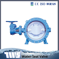 Double Eccentric Butterfly Valve Flange type Series13 Short Pattern