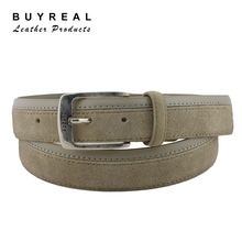 Fashion Casual Men's Belts With Changeable Alloy Buckle