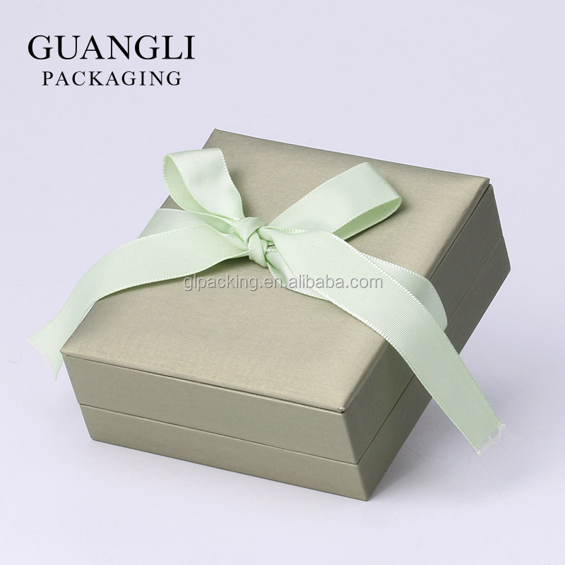 Hot sale luxury soft touch paper cardboard jewelry packaging boxes