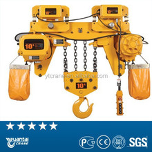 China manufacture 5 ton electric chain block hoist price list