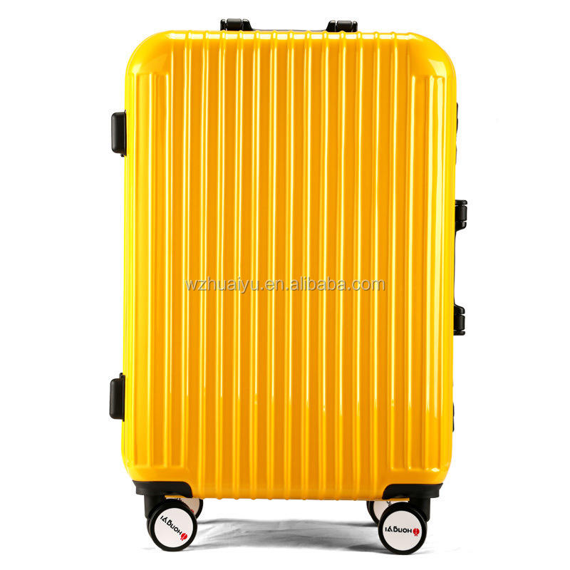 "aluninium abs/pc trolley travel luggage set 20"" 24"" 28"""