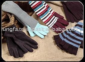 jacquard gloves/knitted gloves/lady's gloves