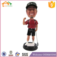 Factory Custom made best home decoration gift polyresin resin figurines to paint