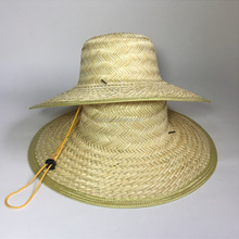 Promotional blank fishing hat custom Straw Hat straw boater hat wholesale
